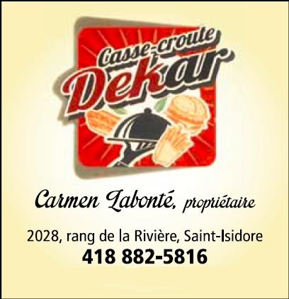Casse-Croûte Dekar